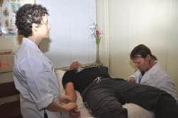 Pulse readings and tongue readings are diagnostic tools in traditional Chinese medicine.