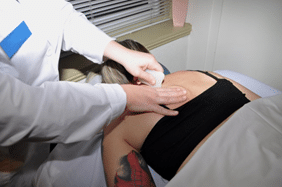 Moxibustion, Cupping, Gua Sha, and E-Stim are just a few of the modalities of TCM that student practitioners incorporate into treatment therapies.